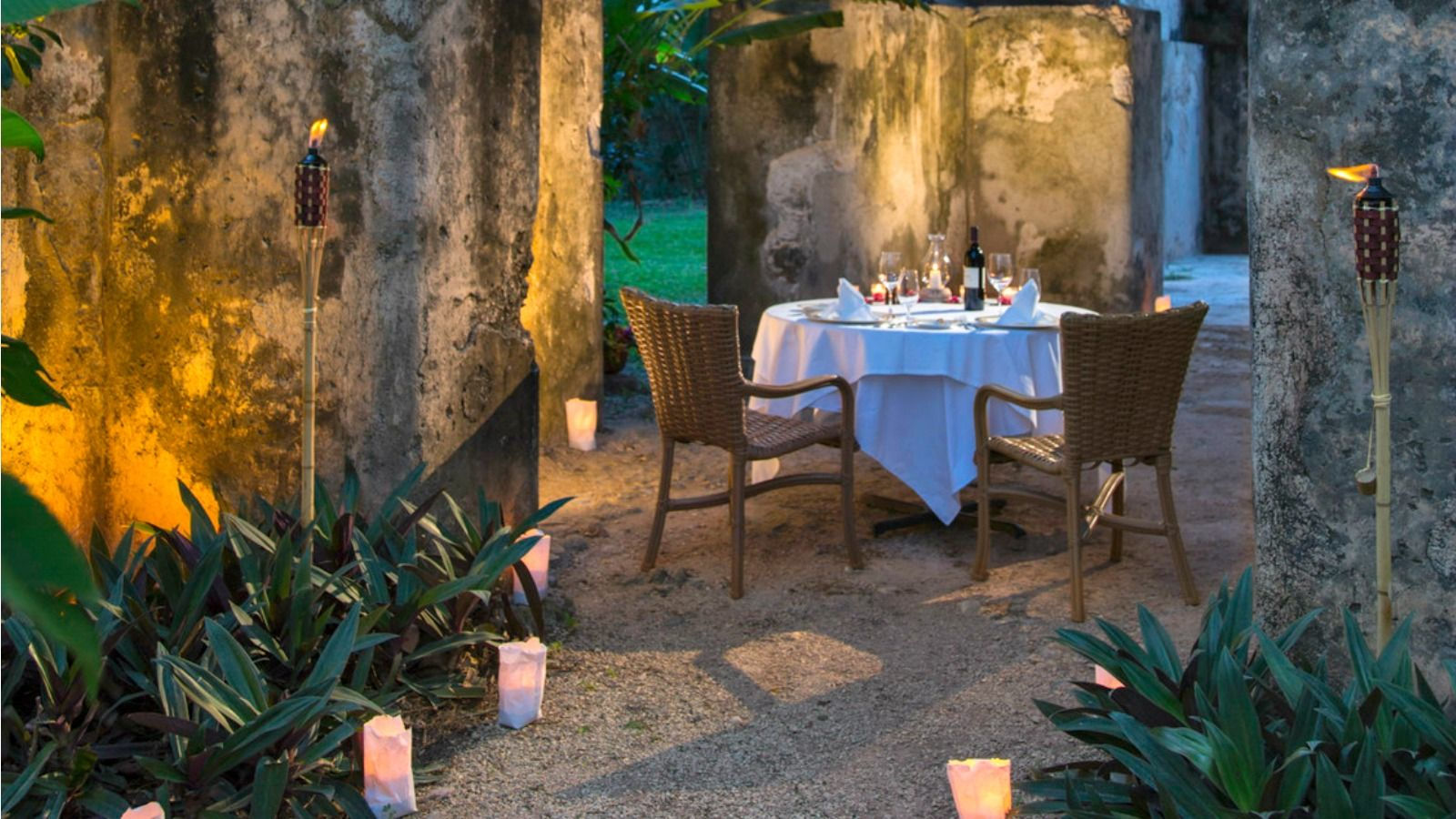 Hacienda Santa Rosa - Romantic Dinner